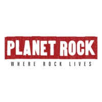 Logo of radio station Planet Rock