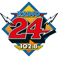 Logo of radio station Radio 24 - 102.8 FM