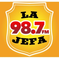 Logo of radio station XHEMY La Jefa 98.7.1 FM
