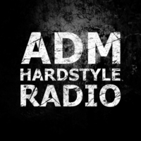 Logo of radio station A.D.M. Hardstyle Radio