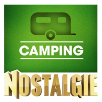 Logo of radio station Nostalgie Camping