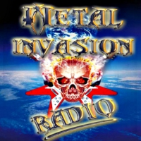 Logo of radio station Metal Invasion Radio