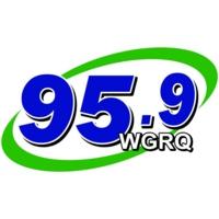 Logo of radio station WGRQ 95.9