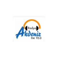 Logo of radio station Akdeniz FM
