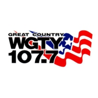 Logo de la radio WGTY - Great Country 107.7