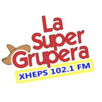 Logo of radio station XHEPS-FM La Super Grupera 102.1 FM