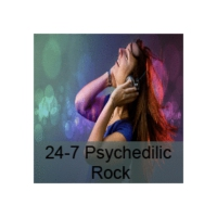 Logo de la radio 24-7 Psychedelic Rock