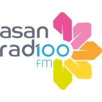 Logo de la radio Asan Rad100 fm