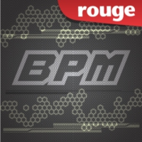 Logo of radio station Rouge FM BPM