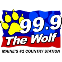 Logo de la radio WTHT - 99.9 The Wolf
