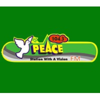 Logo of radio station Peace FM 104.3