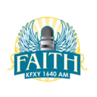 Logo of radio station KFXY Faith