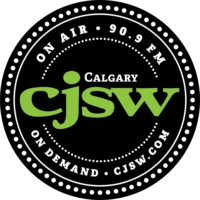 Logo of radio station CJSW 90.9FM