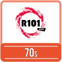 Logo of radio station R101 70