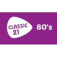 Logo de la radio Classic 21 - 80's (RTBF)
