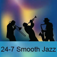 Logo de la radio 24-7 Smooth Jazz