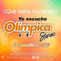 Logo of radio station Olimpica Stereo Bogota 105.9