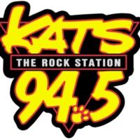 Logo of radio station 94.5 KATS