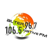 Logo of radio station Alternative FM