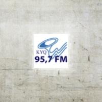 Logo of radio station KYQ 95.7 FM