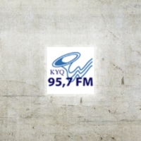 Logo of radio station KYQ 95.7 FM