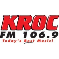 Logo of radio station KROC 106.9 FM
