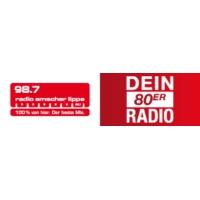 Logo of radio station Radio Emscher Lippe – Dein 80er Radio