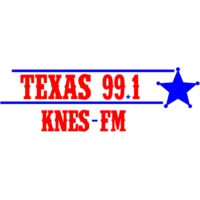Logo of radio station KNES Texas 99.1 FM