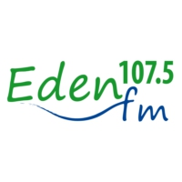 Logo of radio station Eden FM 107.5