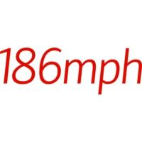 Logo de la radio Promo DJ - 186mph