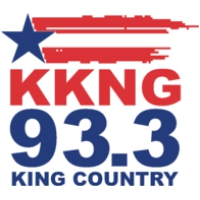 Logo of radio station KKNG 93.3 FM