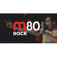 Logo of radio station M80 Rádio - Rock
