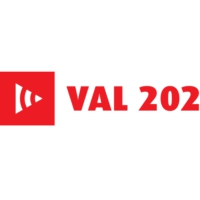 Logo of radio station Val 202