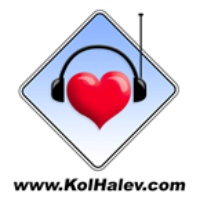 Logo of radio station Kol HaLev