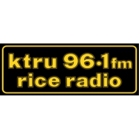 Logo of radio station KTRU Rice Radio- 96.1 FM
