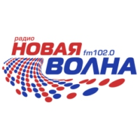 Logo of radio station Новая волна (New Wave)