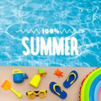 Logo of radio station 100FM - Summer
