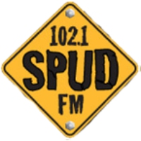 Logo of radio station SPUD