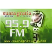 Logo de la radio Suara Gratia 95.9
