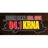 Logo of radio station KRNA 94.1
