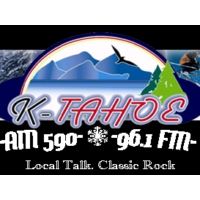 Logo of radio station KTHO K-TAHOE