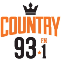 Logo of radio station Country 93.1 FM
