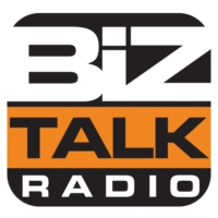 Logo of radio station Biz Talk Radio