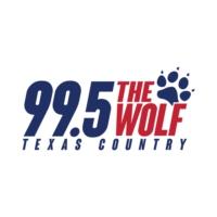 Logo of radio station KPLX-FM 99.5 The Wolf