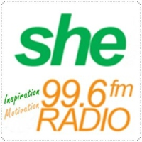 Logo of radio station She Radio 99.6
