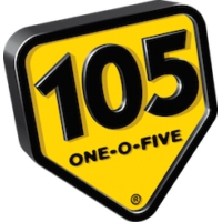 Logo of radio station my105 Rock