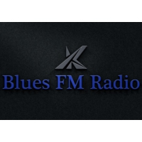 Logo of radio station KBluesFMRadio.com