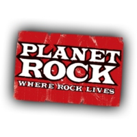 Logo de la radio Planet Rock