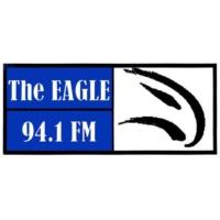 Logo of radio station CIMG-FM The Eagle 94.1