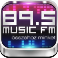 Logo of radio station 89.5 Music Fm